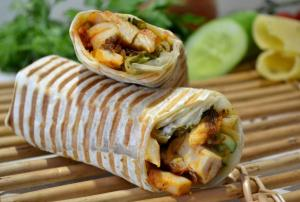 Chicken Tandori Wrap Sandwich
