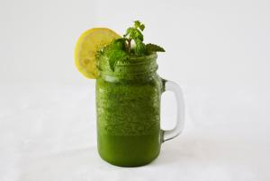 Lemon Mint Frozen Mocktail